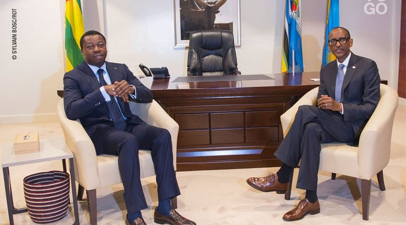 Faure Gnassingbe et Kagame